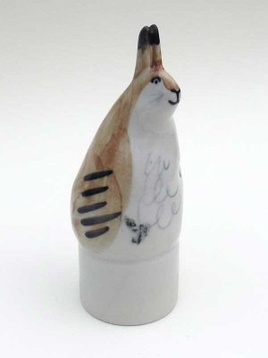 Hare ceramic wine bottle breather stopper
